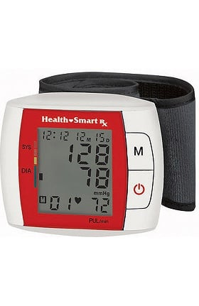 HealthSmart® Automatic Wrist Blood Pressure Monitor with Fast Digital Readout and Expanded Memory