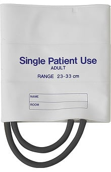 Clearance Mabis Two-Tube Single-Patient Use Blood Pressure Cuffs (Box Of 5)