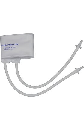 Mabis Single Use Two Tube Neonatal #4 Cuff