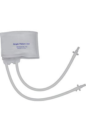 Mabis Two-Tube Single-Patient Use Cuff, Neonatal #5 (Box of 10)