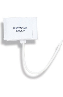 Mabis One-Tube Single-Patient Use Cuff, Neonatal #5 (Box of 10)