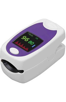 Mabis HealthSmart Premium Fingertip Pulse Oximeter