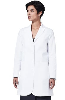 "Medelita Women's M3 Ellody Petite Fit 34"" Lab Coat"