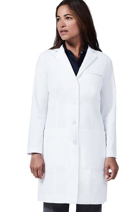 """Medelita Women's M3 Estie Classic Fit 36½"""" Lab Coat"""