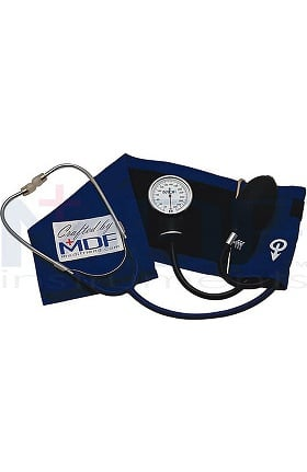 MDF® Calibra™ Pro Aneroid Sphygmomanometer with Attached Adult Single Head Stethoscope