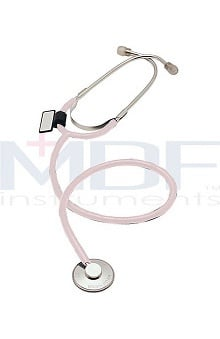 stethoscope ear buds: MDF Adult Single Head Stethoscope