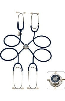 MDF® Pulse Time™ Teaching Stethoscope with Embedded LCD Clock