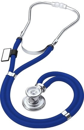 MDF Instruments Sprague Rappaport Dual Head Stethoscope with Adult, Pediatric, and Infant Convertible Chestpiece