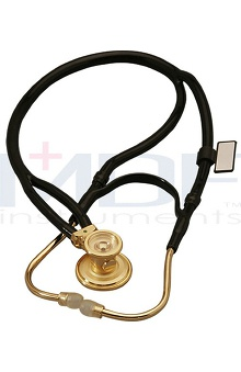 stethoscope ear buds: MDF Gold Deluxe Sprague Rappaport Stethoscope