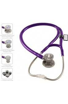 MDF 3-In-1 Cardiology Stethoscope