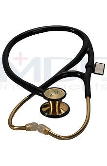 MDF® 22k Gold Edition ER Premier® Stainless Steel Dual Head Adult-Pediatric Stethoscope