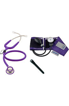 stethoscopes: MDF Instruments Stethoscope Sphygmomanometer Pen Light Bundle