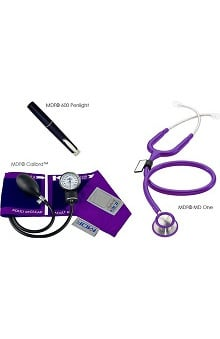 MDF® Calibra™ Aneroid Sphygmomanometer, MD One Stethoscope and POCKET iLLUMiNATOR™ Penlight Kit