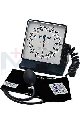 MDF Instruments Desk & Wall Aneroid Sphygmomanometer