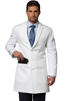 labcoats: Medelita Men's Cushing Slim Fit Lab Coat