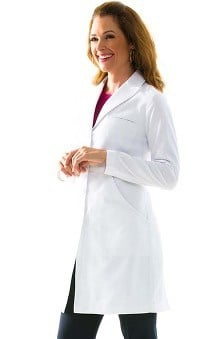 "Medelita Women's M3 Miranda B. Slim Fit 36¾"" Lab Coat"
