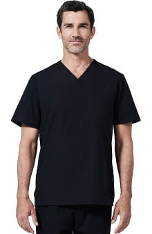 Clearance Medelita Men's V-Neck Top W/Chest Pocket