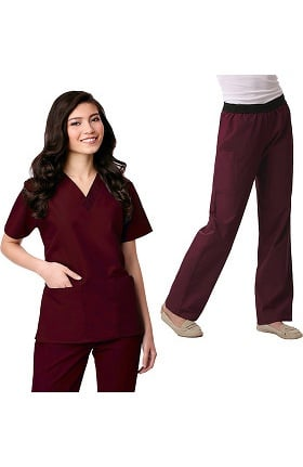 Core by Maevn Women's Scrub Set
