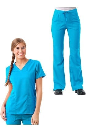 Gravity by Maevn Women's Scrub Set