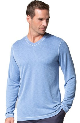 Clearance Maevn Uniforms Men's Modal Knit Curved V-Neck Underscrub Top