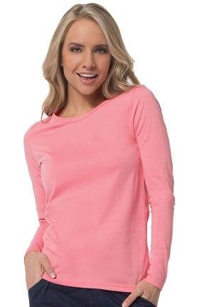 EON Women's COOLMAX® Solid Underscrub T-Shirt