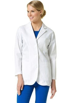 Lab Coats by Maevn Women's Princess Seam Twill Lab Coat