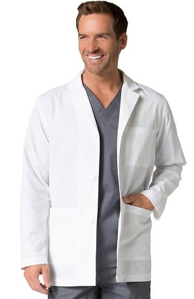 "Red Panda Men's Notch Collar 30½"" Lab Coat"