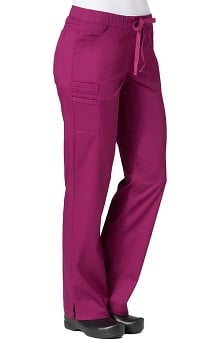 Primaflex by Maevn Women's Straight Leg Scrub Pant