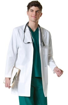 "Lab Coats by Maevn Unisex Twill 35"" Lab Coat"