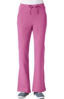Gravity by Maevn Women's Sporty Flare Leg Scrub Pant