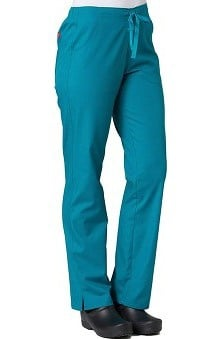 Red Panda Women's Half Drawstring Straight Leg Scrub Pant