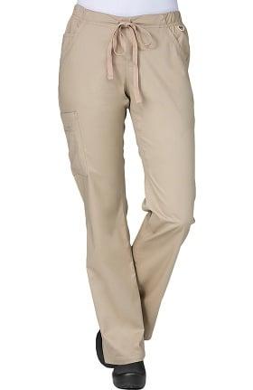 Blossom by Maevn Women's Straight Leg Cargo Scrub Pant
