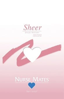 Nurse Mates Women's Soft Lites Sheer Panty Hose