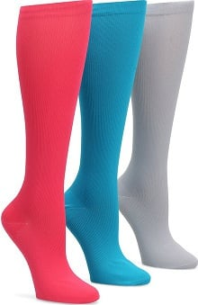 Nurse Mates Women's Compression Trouser Sock 3 Pack