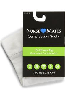 unisex: Nurse Mates Unisex 15-20 mmHg Compression Trouser Socks