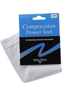 Nurse Mates Unisex 15-20 mmHg Compression Trouser Socks