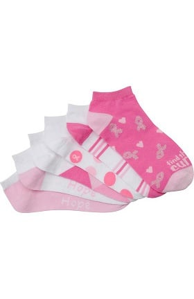 Nurse Mates Women's Anklet Socks Six Pack Socks