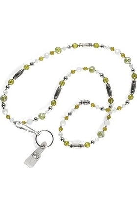 Nurse Mates Women's Beaded Lanyard