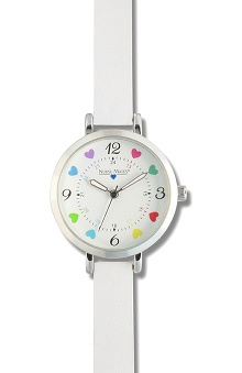 Nurse Mates Women's Multi Heart Dial Watch