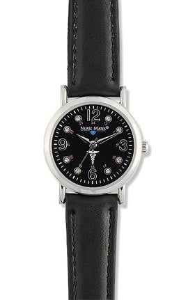 Nurse Mates Women's Caduceus Watch
