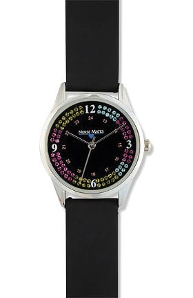 Nurse Mates Women's Stacked Stones Watch