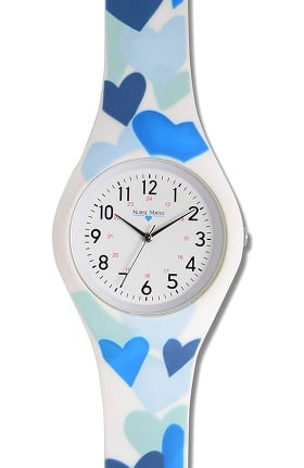 Nurse Mates Women's Printed Silicone Watch