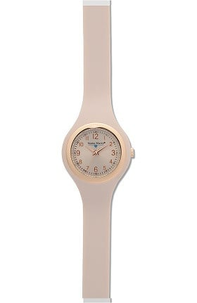 Nurse Mates Women's Uni Body Slim Silicone Watch