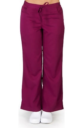Ultrasoft Scrubs Women's 5 Pocket Drawstring And Elastic Waist Pant
