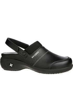 Clearance Oxypas Footwear Women's Sandy Heel Strap Clog