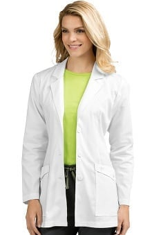 "Vivi By Med Couture Women's Fitted 30"" Lab Coat"
