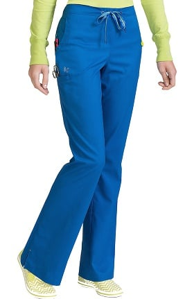 Vivi by Med Couture Women's Sherry Flat Front Cargo Scrub Pant