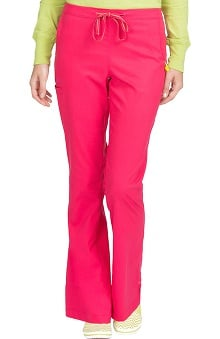 Clearance Vivi by Med Couture Women's Sherry Flat Front Cargo Scrub Pant