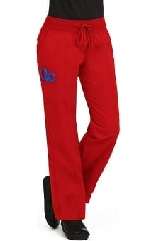 Comfort Collection by Peaches Women's Straight Cut Comfort Scrub Pants