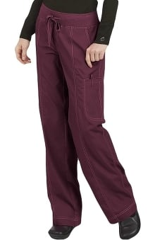 Clearance Comfort Collection by Peaches Women's Straight Cut Comfort Scrub Pants
